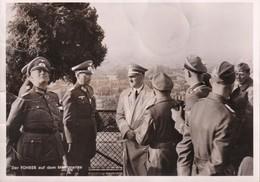 Allemagne : III Reich :   Hitler à Paris : Montmartre Avec Oblitérations Française Et Allemandes Et Timbres: For.10x14 - Deutschland