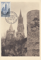 Carte  Maximum  1er  Jour    FRANCE   Cathédrale   De   SENLIS    1958 - Maximum Cards