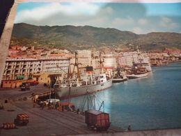 MESSINA   VEDUTE  PORTO NAVE SHIP  CARGO RIMORCHIATORE  VAGONE TRENO  VB1960 HD10484 - Messina