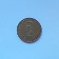 5 Stotinki Münze Aus Bulgarien Von 2000 (sehr Schön) - Bulgarien