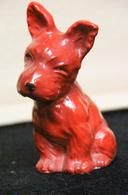 Porcelaine_29_petit Chien Rouge Années '30 - Céramiques