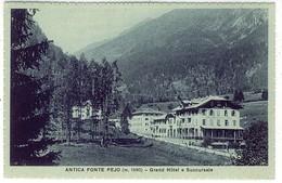 TRENTO ANTICA FONTE PEJO GRAND HOTEL E SUCCURSALE - Trento