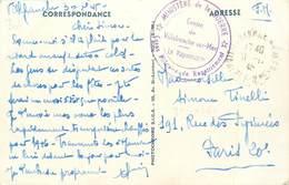 """MARCOPHILIE 2 EME GUERRE Sur CPA FRANCE 06 """"Nice"""" - Guerres"""