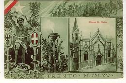TRENTO CHIESA S. PIETRO - Trento