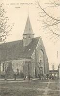 """/ CPA FRANCE 28 """"La Croix Du Perche, église"""" - Autres Communes"""
