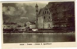 TRENTO CHIESA S. APOLLINARE FOTOGRAFICA - Trento