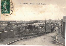 Carte POSTALE Ancienne De HIRSON - Rue De L'Industrie - Hirson