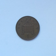 1 Penny Münze Aus Großbritannien Von 1987 (sehr Schön) - 1971-…: Dezimalwährungen