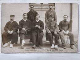 Toulon. Carte-Photo. Hôpital Temporaire Du Lycée. Guerre 1914-1915. Photo Marius Bar - Toulon