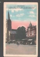 Beauraing - L'Eglise Située Dans La Même Rue Que Le Pensionnat - Colorisée - Beauraing