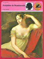 Joséphine De Beauharnais. Épouse Du Premier Consul Napoléon Bonaparte Puis Impératrice. Divorce Pour Cause De Stérilité. - Histoire