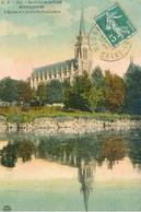 Bonsecours 1911; L'Église Et Le Jardin Du Funiculaire - Voyagé. (Réunies - Nancy) - Bonsecours