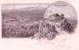Suisse - Appenzell Rhodes - FROHLICHSEGG - AR Appenzell Rhodes-Extérieures