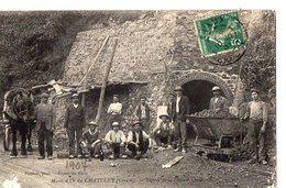 Mines D'Or Du CHATELET (Creuse) - Entrée De La Galerie - Andere Gemeenten