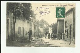 52 - Haute Marne -  Froncles - Rue De L'église - Animée - Enfants Beau Plan  -Réf.vvl - Autres Communes