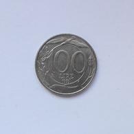 100 Lire Münze Aus Italien Von 1993 (sehr Schön Bis Vorzüglich) - 1946-…: Republik