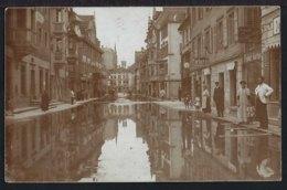 Rorschach - Hochwasser - Hauptstrasse - Belebt – Animée - 1910 - SG St. Gallen