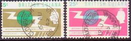 BRITISH GUIANA 1965 SG 370-71 Compl.set Used ITU Centenary - British Guiana (...-1966)