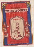 9AL1731 ETIQUETTE CHICOREE EMILE BONZEL - Labels
