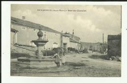 52 - Haute Marne - Serqueux - Rue Du Chatelet - Fontaine - Fillette à L'  - Réf.vvl - Autres Communes