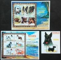 # Tuvalu 2000**Mi.962-74  Dogs Breed , MNH [21;71] - Hunde