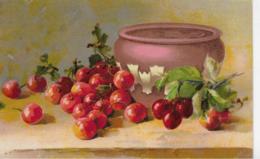 AK 0287  Kirschen - Stilleben Um 1910-20 - Malerei & Gemälde