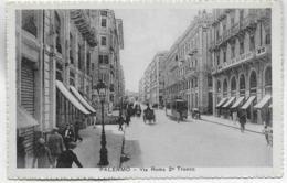 AK 0287  Palermo - Via Roma 2° Tronco Um 1920-30 - Palermo