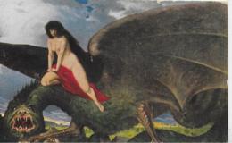 AK 0287  Rüdisühli , Eduard - Dämon Der Liebe / Künstlerkarte Um 1920 - Malerei & Gemälde
