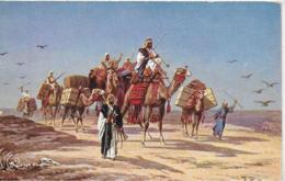 AK 0287  Perlberg , F. - Caravan / Künstlerkarte Um 1910-20 - Afrika