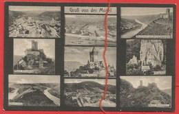 Mosel, Gräfinburg, Bischofstein, Ehrenburg, Eltz, Marienburg, Cochem, Bernkastel, Koblenz, Ruine Landshut - Germania
