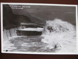 Storm At Hastings, Sussex - Sept 1st 1908 - RP - Hastings