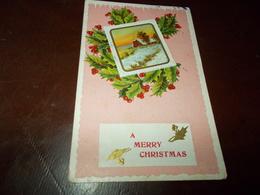 B710  Buon Natale Viaggiata Cm14x9 Presenza Piega Angolo - Non Classificati