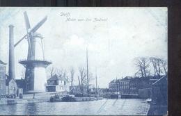 Delft - Molen - Zuidwal - 1900 - Delft