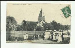 52 - Haute Marne - Blessonville - La Mare - Beau Groupe - Femmes - Enfants   - Réf.vvl - Autres Communes