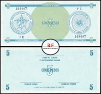 Cuba   5 Pesos   1985   P.FX.13a.1   UNC - Cuba