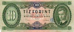 96Bv  Billet Banque Hongrie Tiz Forint 1969 - Hongarije