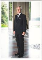 King Philippe   Belgium  ( Rd 124 - Familles Royales