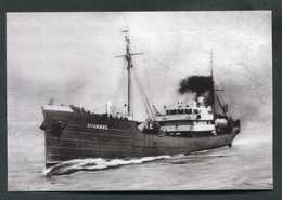 """Photo-carte - Chalutier """"Vivagel, Ex - Alfred Vieu"""" De Granville - Morutier - St Pierre-et-Miquelon - New Foundland - Granville"""