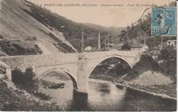 (FRA990)  PONT DE LIGNON. STATION STIVALE - France