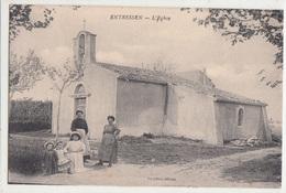 CPA- ENTRESSEN- L'Eglise -animée -dép13 - Autres Communes