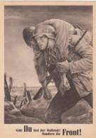 Deutsches Reich General Gouvernement Postkarte Tag Der NSDAP 1943 - Briefe U. Dokumente