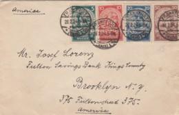 Deutsches Reich Brief 1924 - Deutschland