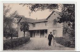 CPA- ENTRESSEN- Pavillon Du Château Suffren -animée -dép13 - Autres Communes