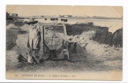 41   BLOIS  PAS COURANTE    LE CRIBLEUR DE  SABLE   BON ETAT   ECRITE TIMBREE  2 SCANS - Blois