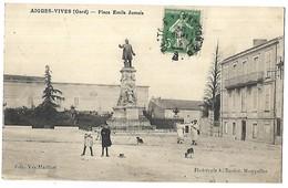 AIGUES VIVES - Place Emile Jamais - Aigues-Vives