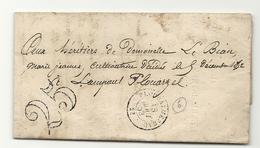 Finistère - Ploudalmézeau Pour Lampaul Plouarzel - 1801-1848: Precursors XIX