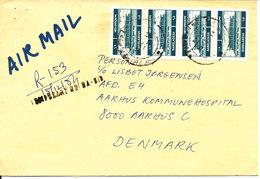Bangladesh Registered Cover Sent To Denmark - Bangladesh