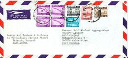 Bangladesh Air Mail Cover Sent To Germany Tejgaon 17-7-1981 - Bangladesh