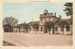 CPA 31 Haute Garonne Blagnac Mairie Et Poste Colorisée - Francia