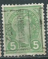 Timbre Luxembourg Y&T N°72 - 1895 Adolphe De Profil